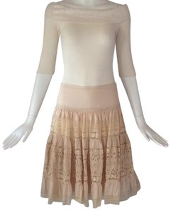 Anthropologie Skirt Beige