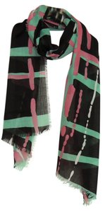 other New' Printed Paris yarn grid Scarf Scarf P206021