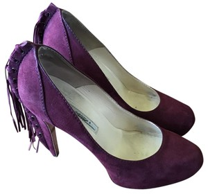 Brian Atwood Burgundy Pumps