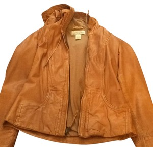 Lucky Brand Brown Leather Jacket