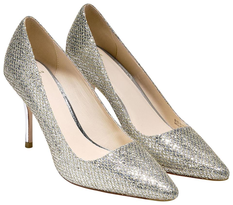 511da0d0ec48 Cole Haan Silver Bradshaw (85mm) - Pointy Toe Pumps Size US 9.5 ...