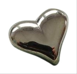 Tiffany & Co. Sterling Silver Puffed Heart Brooch