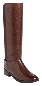 Cole Haan Knee High Tall Boot Chestnut Brown Boots