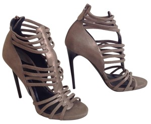 DKNY Silver/ bronze Sandals