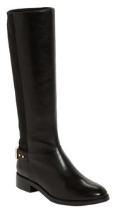 Cole Haan Knee High Tall Boot Black Boots