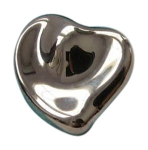 Tiffany & Co. Elsa Peretti Sterling Silver Loving Heart Brooch