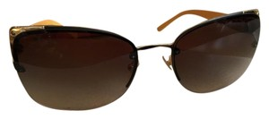 Tory Burch Tory Burch orange and gold butterfly sunglasses