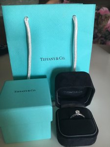Tiffany & Co. Tiffany & Co Platinum And Diamond Solitaire Ring (0.41 Carat)