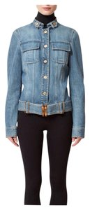 Gucci By Tom Ford Belted Denim light blue Womens Jean Jacket