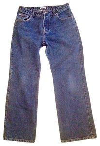 Halogen Cotton Trouser/Wide Leg Jeans