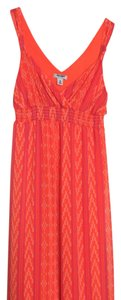 Orange and pink Maxi Dress by Old Navy