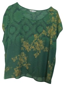 CAbi Top Green/Gold