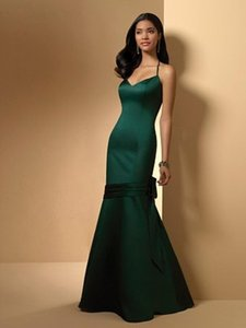 Alfred Angelo Hunter Green New With Tags Style 7010 Dress