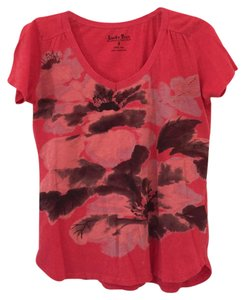 Lucky Brand Large T Shirt Coral