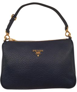Prada Blue Mini Mini Hobo Shoulder Bag