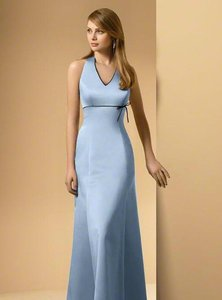 Alfred Angelo Platinum / Navy New With Tags Style 6499 Dress