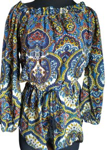 Band of Gypsies Playsuit Smock Topshop Nordstrom Off The Dress