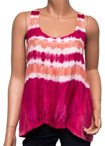 Ben and Lucia Tie-dye Petite Summery Top Multi-color
