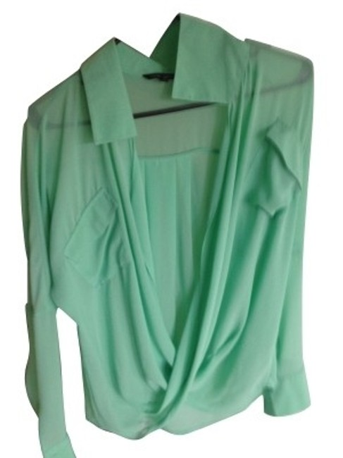 Preload https://item5.tradesy.com/images/naked-zebra-mint-green-blouse-size-8-m-184-0-0.jpg?width=400&height=650