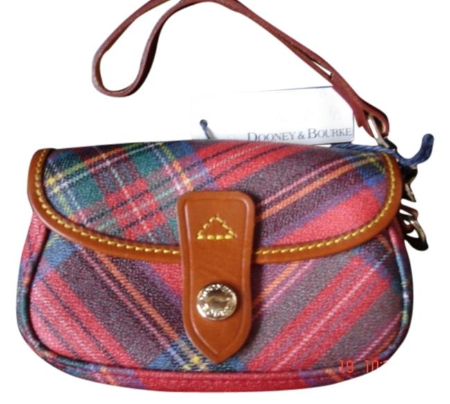 Item - With Tags Has Purse/Wristlet Retail Value Red Plaid Weatherproof Exterior Baguette