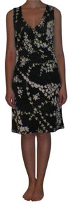 Taboo short dress Black Floral Lightweight on Tradesy