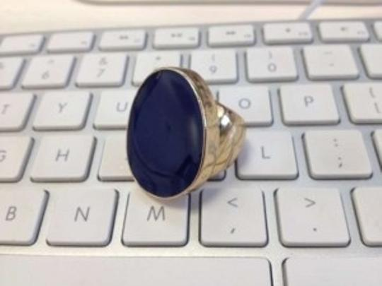 Kenneth Jay Lane Kenneth Jay Lane Blue Cocktail Ring