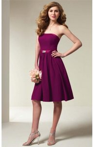 Alfred Angelo Berry New With Tags Style 7065 Dress