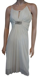 BCBG Classic Beaded Elegant Wedding Dress