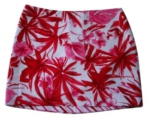 Speechless Mini Skirt Red, pink, white