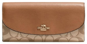 Coach Leather full size wallet