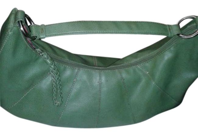 Item - Large Green Faux Leather Hobo Bag