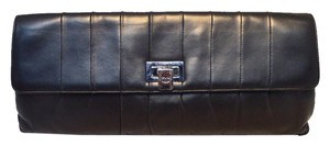 Chanel Paris Leather Lambskin Black Clutch