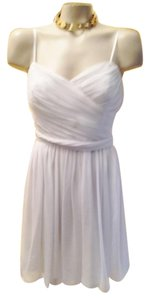 Jill Stuart Grecian Pleated Date Night Bridal Wedding Dress