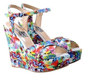 Moschino Love Heels Special Summer Wedges