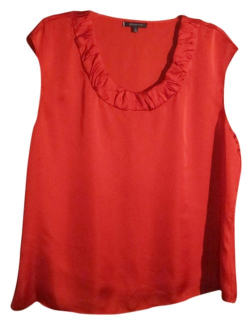 Anne Klein Top Bright red