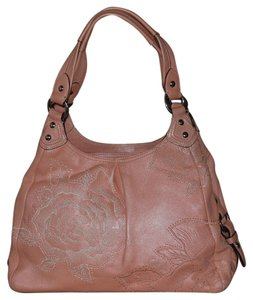Coach Rose Embroidered Shoulder Bag