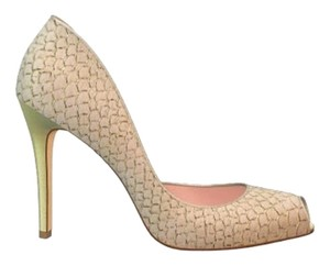 Shoes of Prey Gold/pink Formal