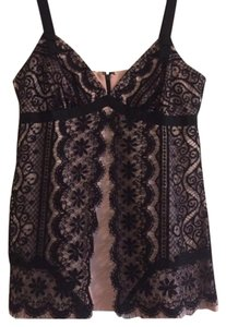 Trina Turk Top Black and Pink