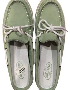 Sperry Teal Flats