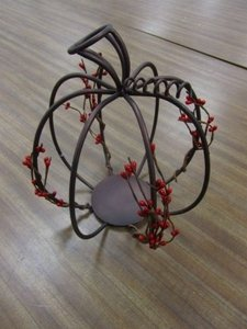 Brown/Red Perfect For Fall Centerpiece