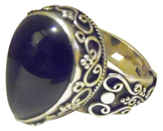 Preload https://item1.tradesy.com/images/925-sterling-silver-artisan-crafted-black-onyx-size-9-ring-1840540-0-1.jpg?width=440&height=440