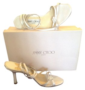 Jimmy Choo White Sandals