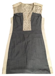 BCBGMAXAZRIA short dress Blue and White Lace Bcbg Bcbg on Tradesy