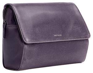 Matt and Nat Bike Leather Leather Vintage Bicycle purple Travel Bag