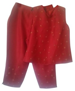 Chelsea Cambell Chelsea Cambell Petites Silk Pant Set