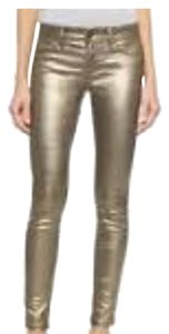 DL1961 Skinny Pants Gold