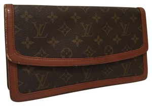 Louis Vuitton Vintage Brown Clutch