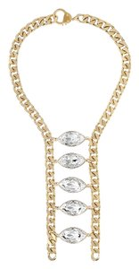 eklexic NAVETTE LADDER NECKLACE