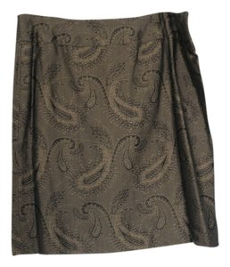 Pendleton Skirt Brown/Black Paisley
