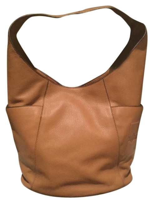 Item - T Bombe-t Brown Leather Hobo Bag